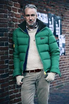 Designer Michael Bastian presented his Fall/Winter 2012 collection recently in New York.